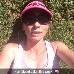 30km run week