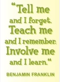 Wise Benjamin Franklin