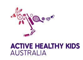 Active Healthy Kids Australia logo.