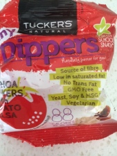 Tuckers Natural Tiny Dippers with Tomato Salsa