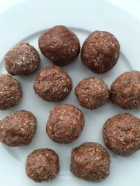 fudgy bliss balls