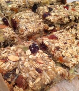 healthy muesli bar 1