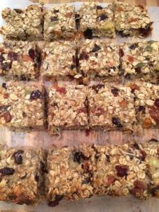 healthy muesli bar