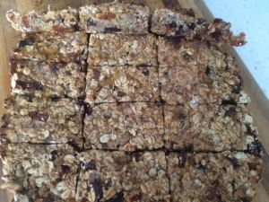 Delicious Healthy Muesli Bars - Recipe from the book
