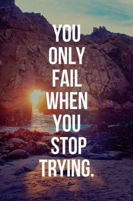 don't fail