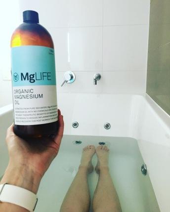 magnesium bath